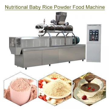 Automatic Eco-friendly Nutritional Baby Rice Powder Food Machine With Rice Flour As Raw Material