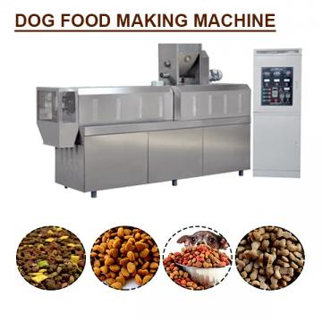 60-80kg/h Smart Control Dog Food Manufacturing Equipment, High Capacity