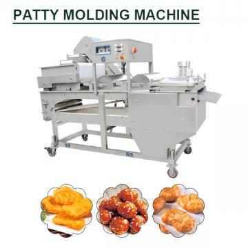 Electricity Diesel Steam Gas Fully Continuous Patty Molding Machine With Poultry As Raw Material