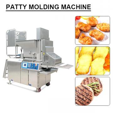 PLC System Easily Operated Patty Molding Machine With Cost Effective
