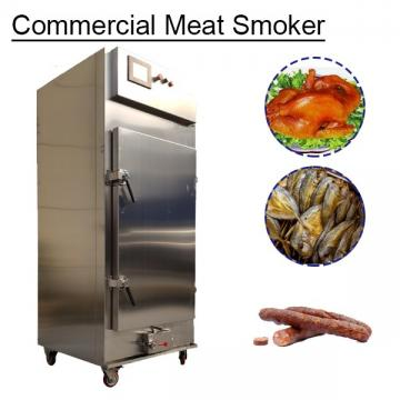 30-100Kg Fully Automatic Commercial Meat Smoker With Chicken As Raw Material