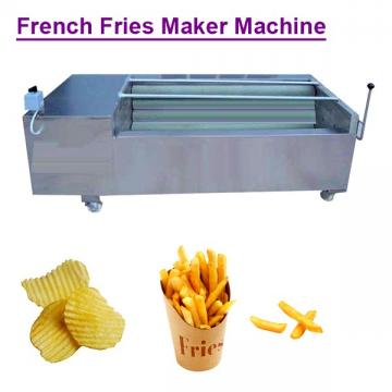 380v/50hz Stainless Steel Food Grade French Fries Maker Machine With Potato As Raw Material