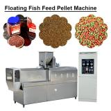 380v/50hz  High Productivity Floating Fish Feed Pellet Machine With Self Cleaning