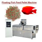 Automated Systems Easy Operation Floating Fish Feed Pellet Machine With Low Cost
