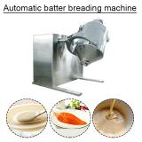 Ce Certification Stainless Steel Automatic Batter Breading Machine With Low Consumption