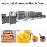 Ce Certification Hot Air Cycle Industrial Microwave Batch Oven For Drying Vegetables